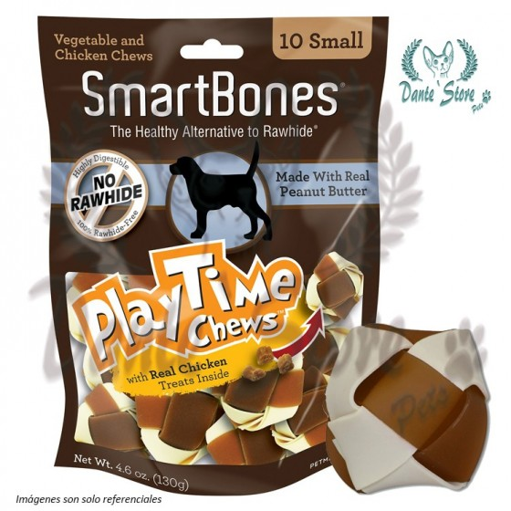 SMARTBONES PLAYTIMES 10 SMALL 130GR