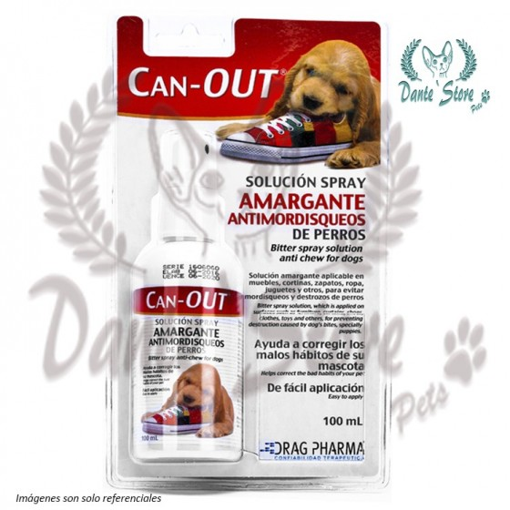 CAN-OUT AMARGANTE SPRAY 100ML