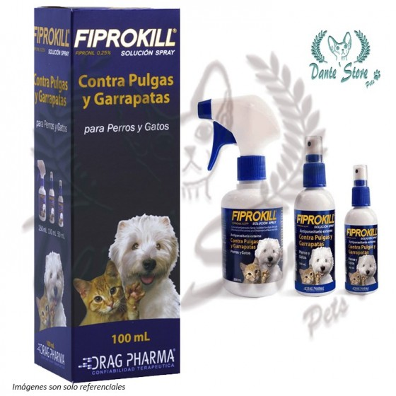 ANTIPARASITARIO FIPROKILL SPRAY