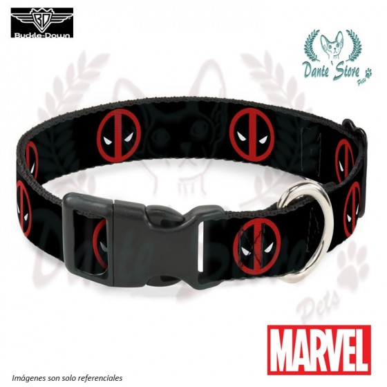 COLLAR DEADPOOL BUCKLE-DOWN