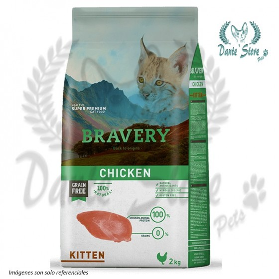 BRAVERY KITTEN CHICKEN (POLLO) 2KG