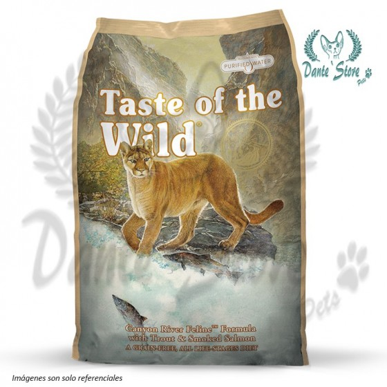 TASTE OF THE WILD (TOW) CANYON RIVER FELINE 2KG
