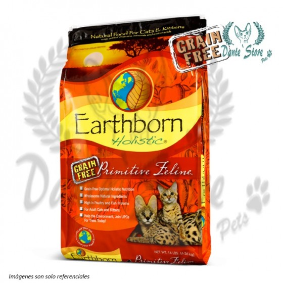 EARTHBORN PRIMITIVE FELINE 2,2KG