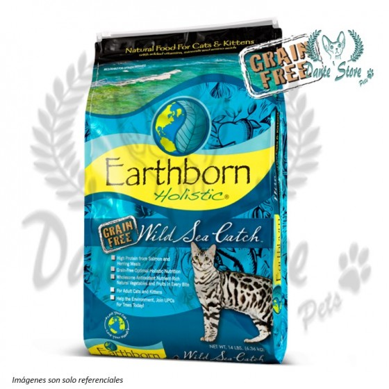 EARTHBORN WILD SEA CATCH FELINE 2,2KG