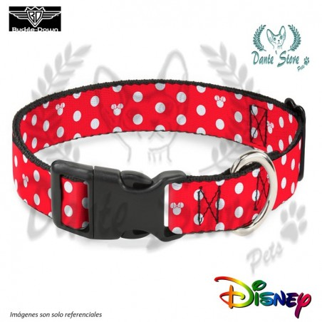 COLLAR MINNIE MOUSE BUCKLE-DOWN