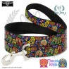 CORREA CALAVERAS MULTICOLOR BUCKLE-DOWN