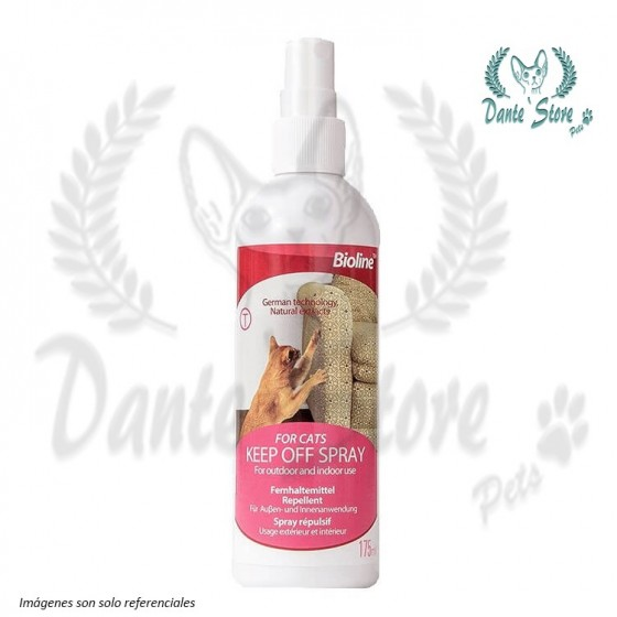 BIOLINE REPELENTE SPRAY PARA GATOS