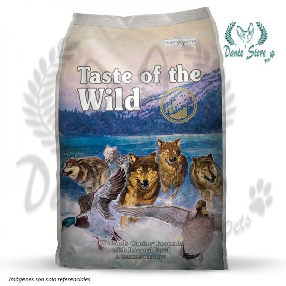 TASTE OF THE WILD (TOW) WETLANDS CANINE 6KG