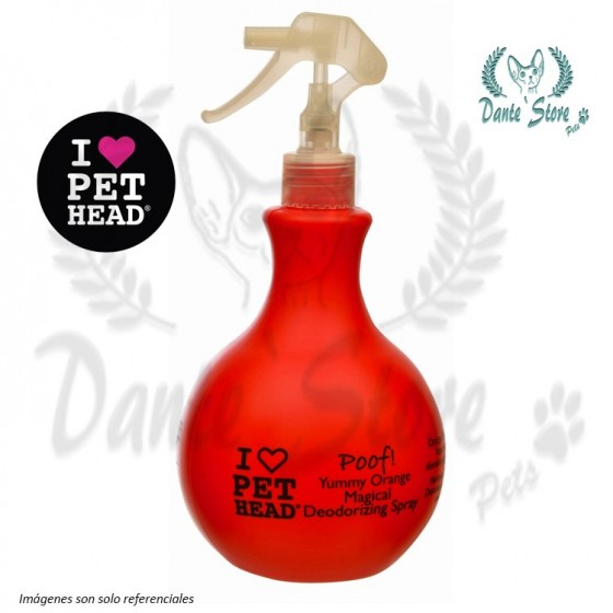 PET HEAD DESODORANTE SPRAY 450ML