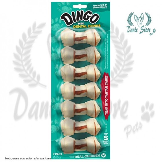 DINGO MINI DENTAL 7 PACK 70GR