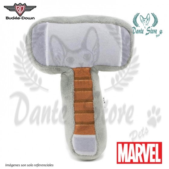 JUGUETE BUCKLE DOWN MARTILLO DE THOR