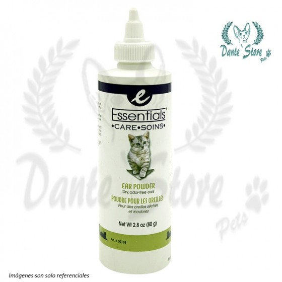 ESSENTIALS EAR POWDER CATS (TALCO LIMPIADOR DE OIDOS)
