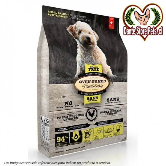 OVEN BAKED (OBT) GRAIN FREE DOG SMALL BREED CHICKEN 2.27KG