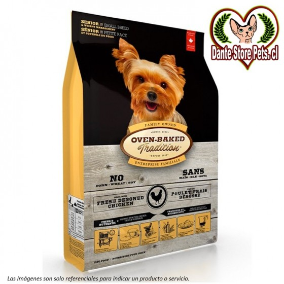OVEN BAKED (OBT) TRADITION DOG SENIOR SMALL BREED CHICKEN 2.27KG
