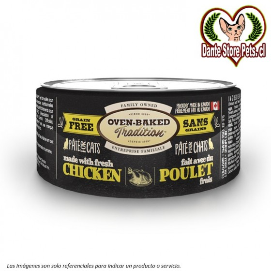 OVEN BAKED (OBT) LATA PATE CAT CHICKEN 156G