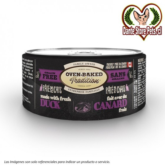 OVEN BAKED (OBT) LATA PATE CAT DUCK 156G