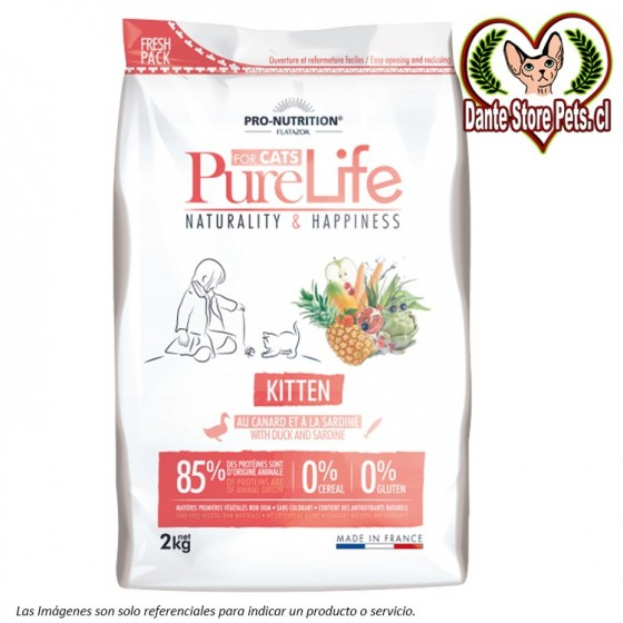 PURE LIFE FOR CATS KITTEN 2KG