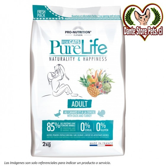 PURE LIFE FOR CATS ADULT 2KG