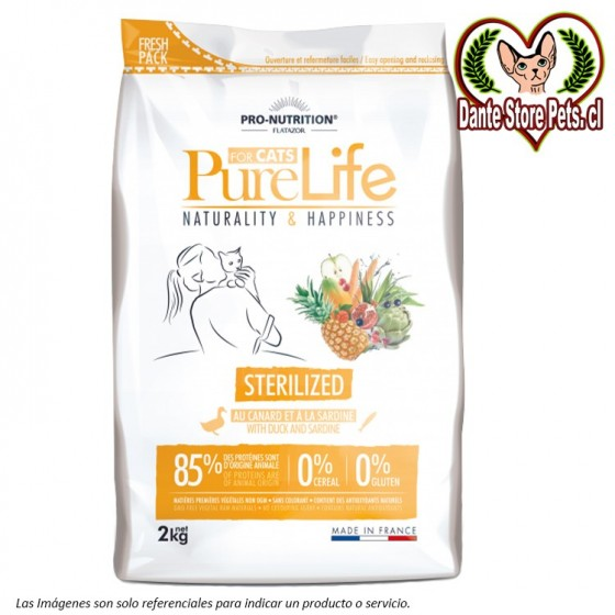 PURE LIFE FOR CATS STERILIZED 2KG
