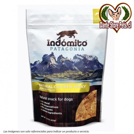 INDOMITO PATAGONIA NATURAL CHICKEN JERKY 80G